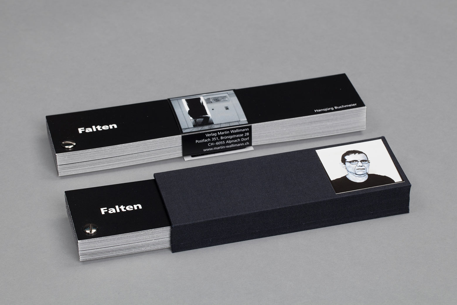 Edition Typoundso Falten Hansjürg Buchmeier