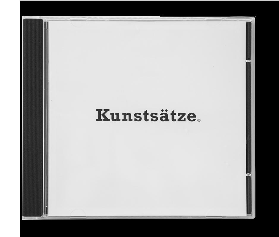 Edition Typoundso Kunststätze Hansjürg Buchmeier und Peter Stobbe